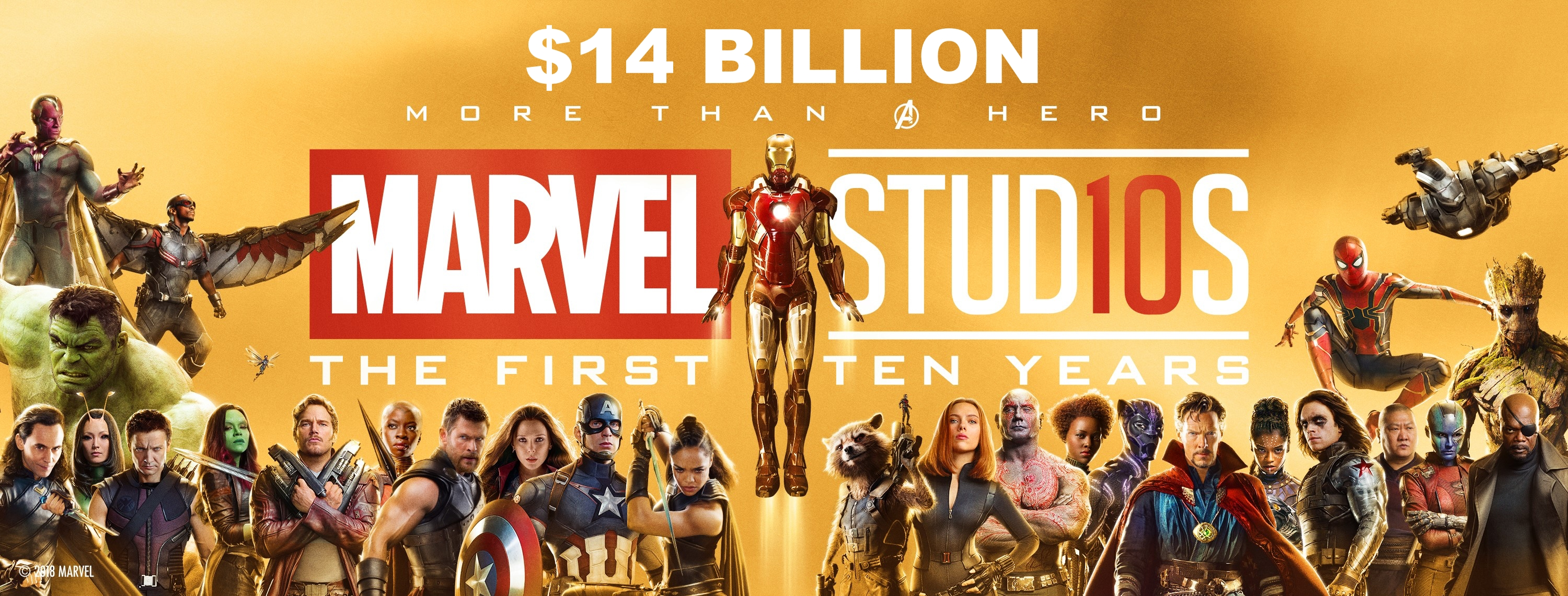 Marvel Studios banner 14 billion